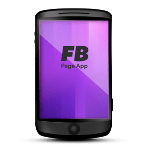 Facebook Page Mobile App