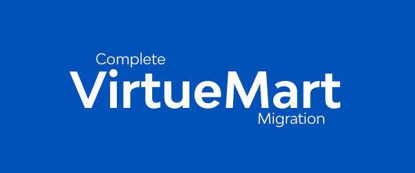 VirtueMart Migration Services