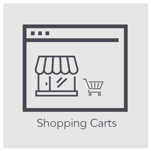 Shopping cart web design