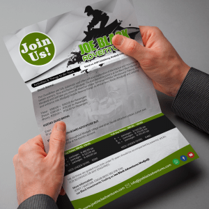 Brohure and Flyer Design