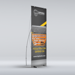 X Banner PVC Stand