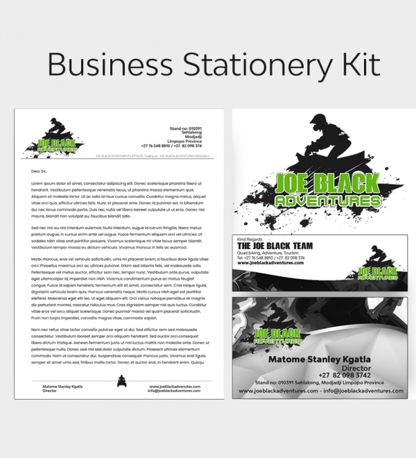 Business Stionery Design Kit