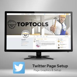 Twitter Page Setup